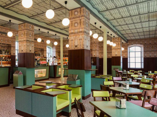, 9 RESTAURANTS INSPIRED BY CINEMA AND TV SHOWS